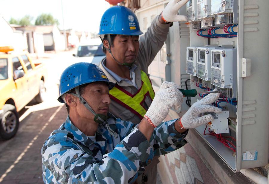 天津宝坻区农户安上智能电表---国家能源局